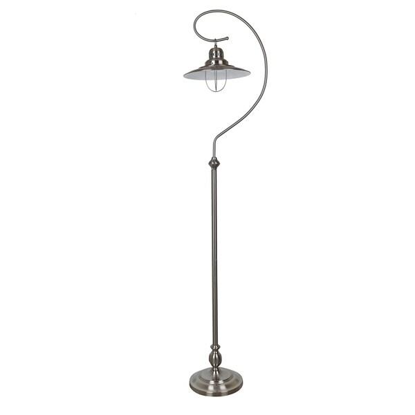 Somerset Brushed Nickel 69-inch Floor Lamp