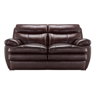 Kimble Top Grain Leather Loveseat