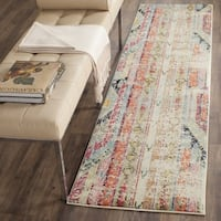 "Safavieh Monaco Vintage Boho Multicolored Distressed Rug - 2'2"" x 8' Runner"