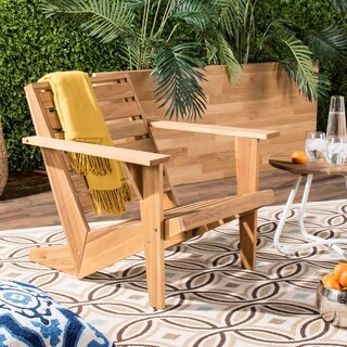 Safavieh Outdoor Living Lanty Adirondack / Natural