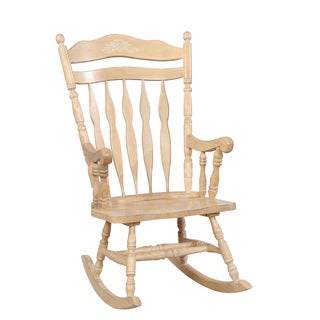 Furniture of America Viola Traditional Country Rocking Chair