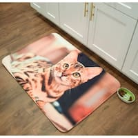"Bengal Memory Foam Anti Fatigue Anti Slip Barkley Collection Mat by Pets@Heart - cat - 2'6"" x 3'6""/30"" x 42"""