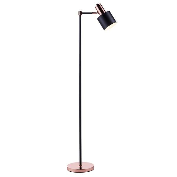 Versanora - Monopiede Monopod Floor Lamps - Black/Gold