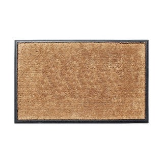 A1HC First Impression 30 in. x 48 in. Rubber and Coir Molded Double Door Mat