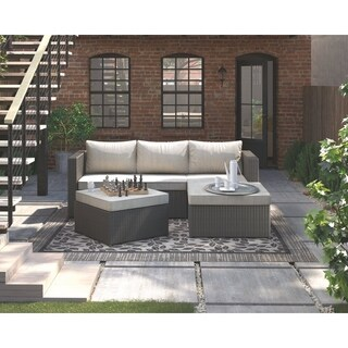 Signature Design by Ashley Pheasant Trail Gray Outdoor Sectional