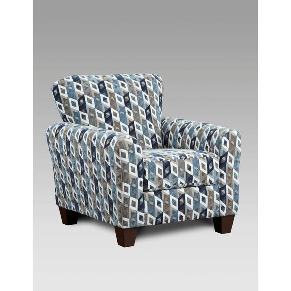 Shop Sofa Trendz Cambridge Printed Accent Chair Free