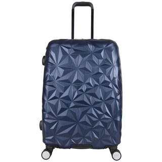 Aimee Kestenberg Geo Chic 24-inch Lightweight Hardside Expandable Spinner Suitcase