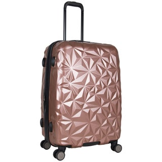 Aimee Kestenberg Geo Chic 24-inch Lightweight Hardside Expandable Spinner Suitcase (2 options available)