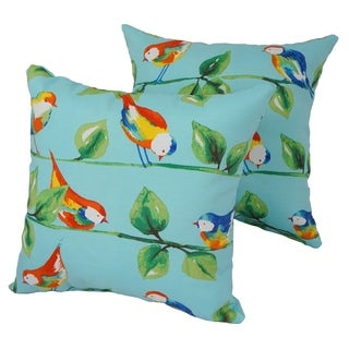 Tropicana 17-inch Indoor/Outdoor Throw Pillow (Set of 2)