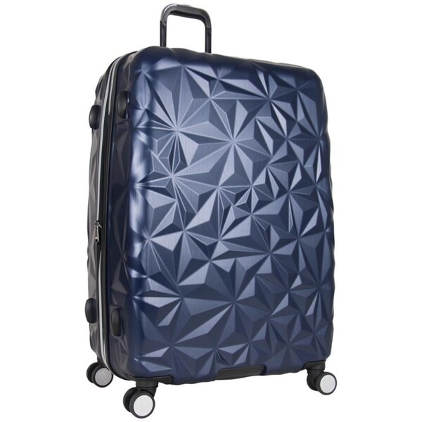 f527db785 Aimee Kestenberg Geo Chic 28-inch Embossed Lightweight Hardside Expandable  Spinner Suitcase