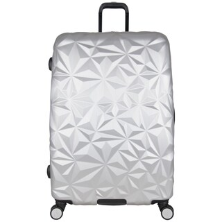 Aimee Kestenberg Geo Chic 28-inch Embossed Lightweight Hardside Expandable Spinner Suitcase