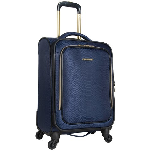 Aimee Kestenberg Parker 20-inch Lightweight Jacquard Expandable Carry-On Spinner Suitcase
