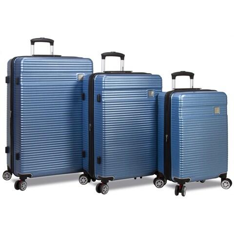 World Traveler Grazie 3-piece Hardside Spinner TSA Combination Lock Luggage Set
