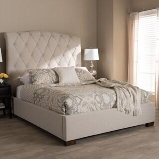 Gracewood Hollow Jennings Fabric Upholstered Platform Bed