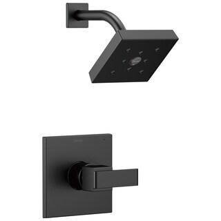 Delta Ara Monitor 14 Series H2Okinetic Shower Trim T14267-BL Matte Black