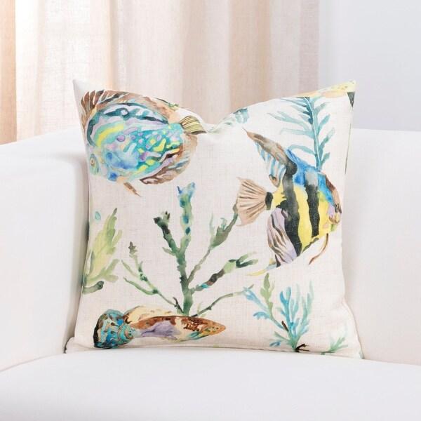 Sis Covers Bimini Tropical Throw Pillow