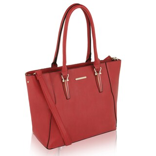 MKF Collection by Mia K Farrow Emy Extravagant Tote (Option: Red)