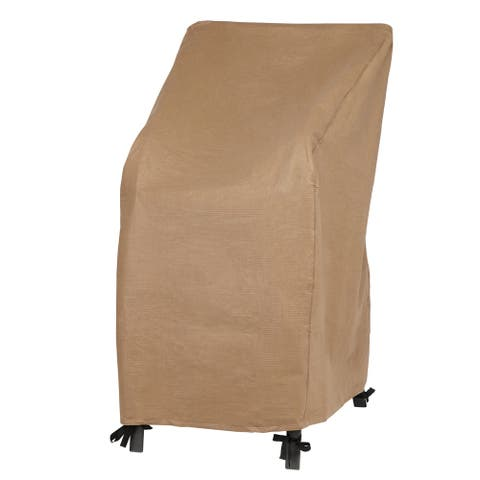 Duck Covers Essential Water-Resistant 28 Inch Stackable Chair Cover