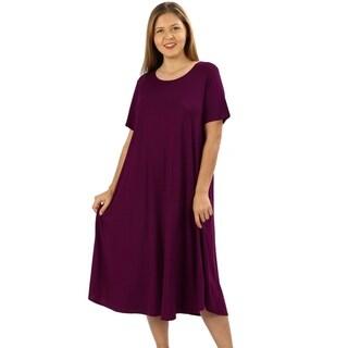 Plus Size Purple Dresses