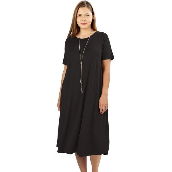 15cf9727d1103 Buy Size 3X Women's Plus-Size Dresses Online at Overstock   Our Best Women's  Plus-Size Clothing Deals