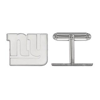 Versil LogoArt Sterling Silver New York Giants Cuff Links