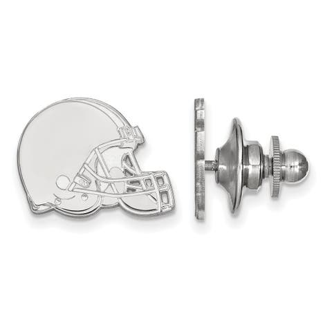 Versil Sterling Silver Cleveland Browns Lapel Pin