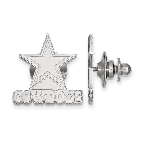 Versil Sterling Silver Dallas Cowboys Lapel Pin