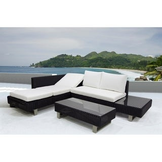 3 Piece Convertible Sectional Set with Cushions - TERRI