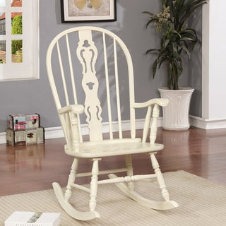 Furniture of America Ethel Traditional Country Rocking Chair