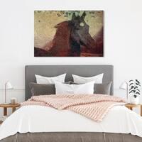 Oliver Gal 'Glare' Canvas Art