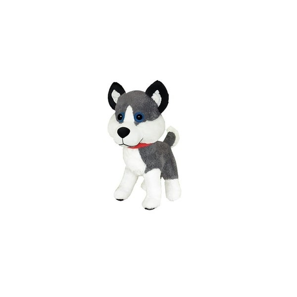 Toysource Classic Toy Ctc003do012aa Mckinley The Husky 12 Inch Plush