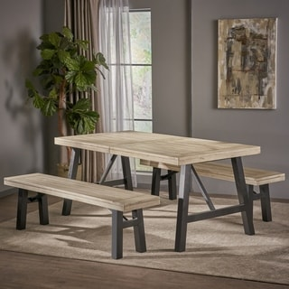 Shop Greenway 3 Piece Wood Dining Set By Christopher