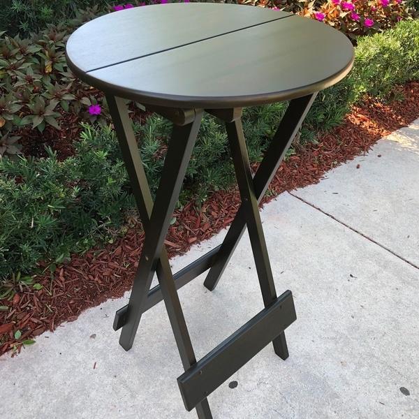Height Pub Table Folding Bar Patio Furniture