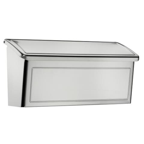 Venice Stainless Steel Wall Mount Mailbox