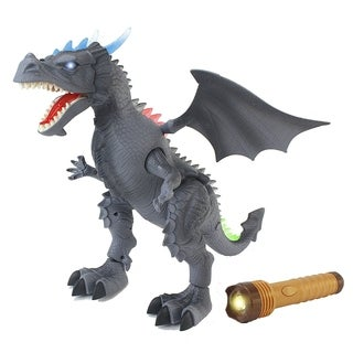 The World Of Dinosaurs Toy RC Gray Dragon