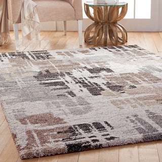 """Furniture of America Roso Contemporary Grey Accent Rug (5'3"""" X 7'6"""") - 5'3 x 7'6"""