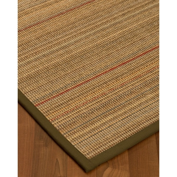 Naturalarearugs Resort Sisal Carpet Runner Made In Usa Malt Border