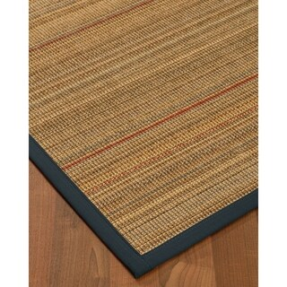 "NaturalAreaRugs Resort Sisal Carpet Runner Made in USA Marine Border (2' 6"" x 8')"