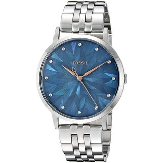 Fossil Women's ES4309 Vintage Muse Grey MOP Dial Stainless Steel Bracelet Watch
