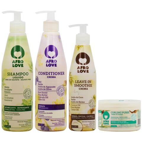 Afro Love 4-piece Hair Care Set