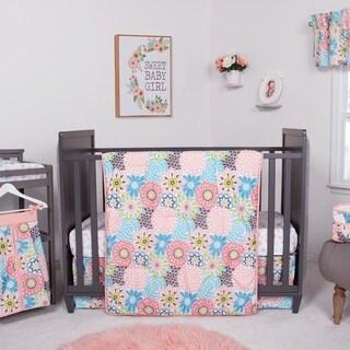 Waverly Blooms 5 Piece Crib Bedding Set