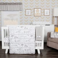 Waverly Congo Line 5 Piece Crib Bedding Set