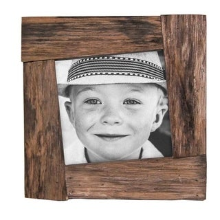5X5 Reclaimed Wood Photo Frame