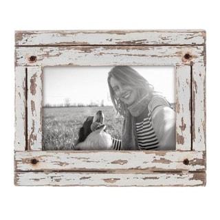 4X6 Heartland Photo Frame White