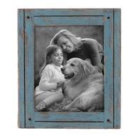 8X10 Heartland Photo Frame Blue