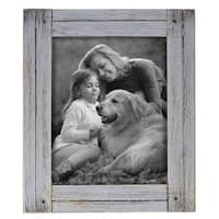 8X10 Heartland Photo Frame Gray