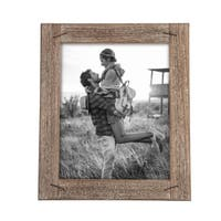 8X10 Weathered Photo Frame With Nail Accents
