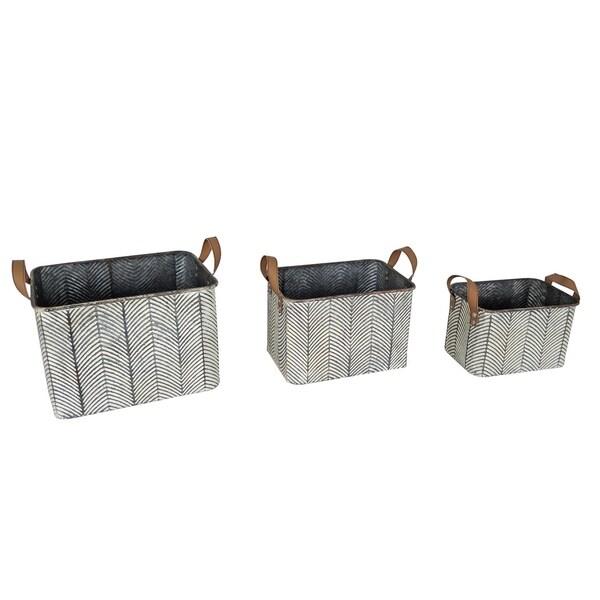 Braxton Baskets, Set of 3