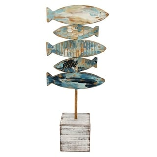 Fish Stack Table Art