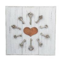 Unlock My Heart Wall Art